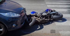 Motorcyle accident