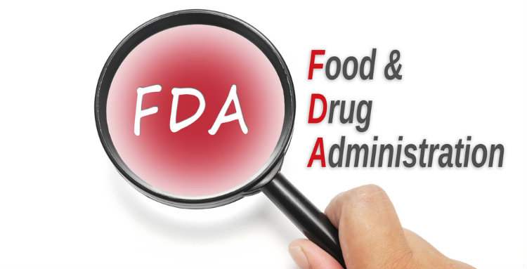 FDA in magnifying glass