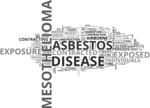 mesothelioma asbestos word cloud