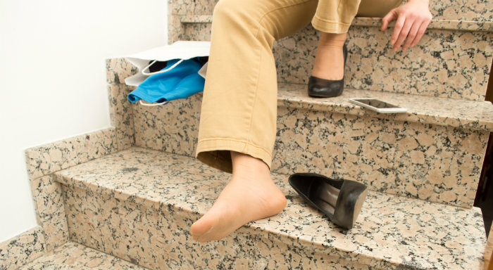 Slip and Trip Accidents: Dangers of Stairs